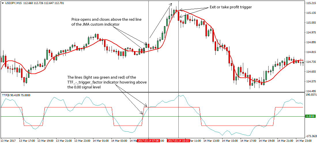 Market trend trading system