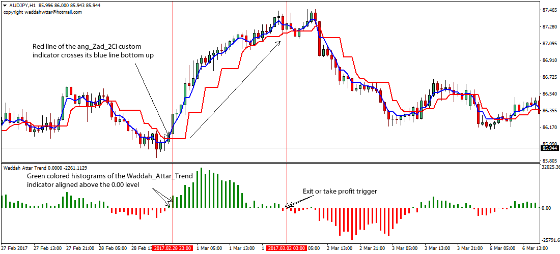 Forex trend trading strategy